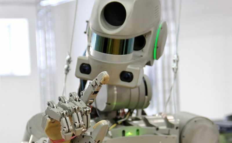 Магнитогорский робот Федор полетел в космос