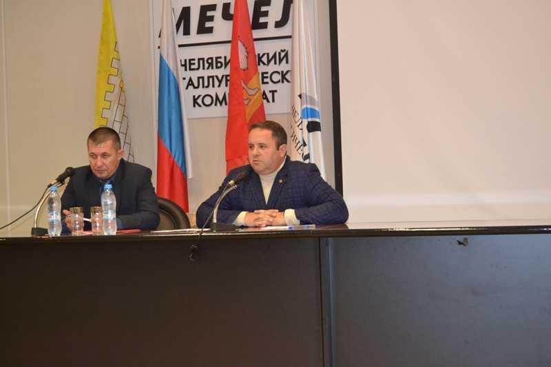 Сергей Кочетков встретился с работниками ЧМК