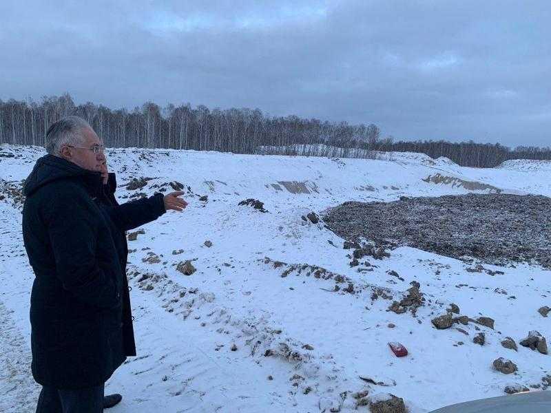 На полигоне в Полетаево будут производить топливо из мусора