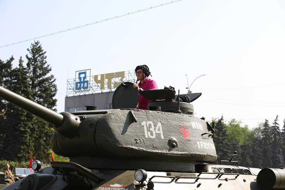 Челябинцам напомнили, почему город назвали Танкоградом