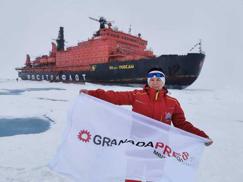Челябинская школьница вернулась из арктической экспедиции