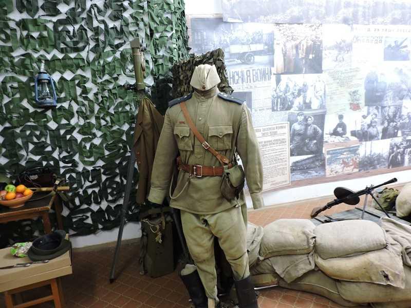 От копья до пулемета – что показывают челябинцам на выставке